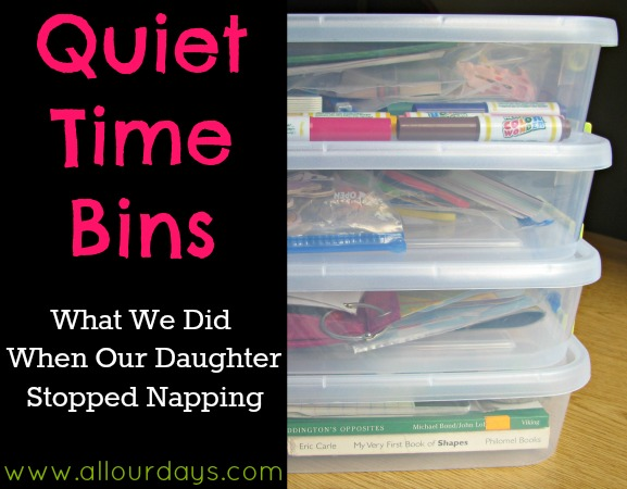 Quiet Time Tuesday #1 ~ Quiet Time Activities for When Your Child Stops Napping