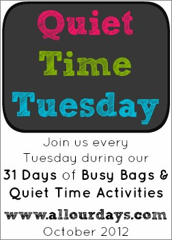 Quiet Time Tuesday #2: Establishing a Quiet Time…When Your Child Stops Napping