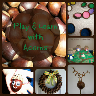 Please use the link in the caption to repin from the original source http://heymommychocolatemilk.blogspot.com/2012/10/acorn-palooza.html#