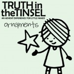 Truth in the Tinsel Printable Ornaments