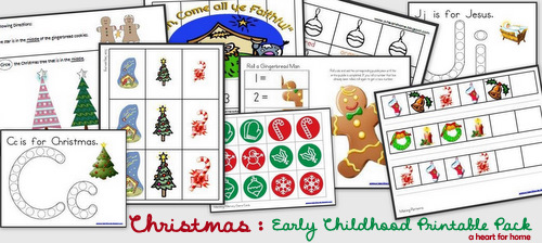 Christmas Printables Pack