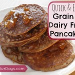 Quick & Easy Grain & Dairy Free Pancakes @ AllOurDays.com #paleo, #glutenfree #dairyfree #breakfast #cleaneating