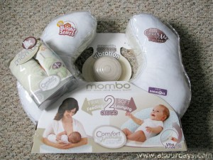 Mombo Nursing Pillow Review @ AllOurDays.com