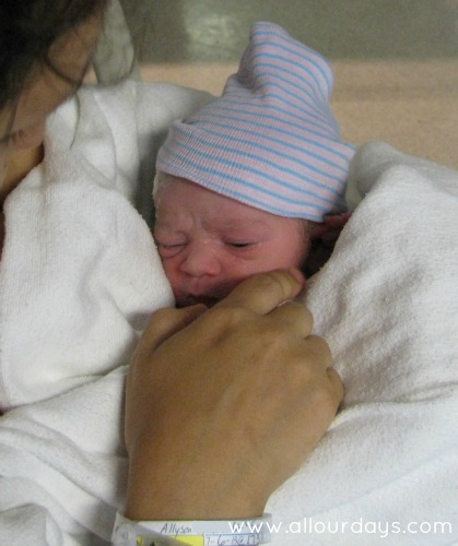 Lillian's Birth Story: Part 1, How My 5th Labor Began @ AllOurDays.com