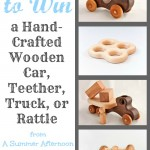 Enter to #Win a hand-Crafted Wooden Toy from A Summer Afternoon @ AllOurDays.com End 8/19 11:59PM EST