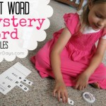 Sight Word Mystery Word Printables @ AllOurDays.com
