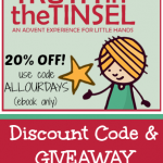 Truth in the Tinsel Discount Code & Giveaway @ AllOurDays.com #truthinthetinsel #advent #Christmas
