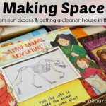 Making Space: sharing from our excess @ AllOurDays.com