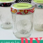 Simple & Inexpensive DIY Coin Jars @ AllOurDays.com