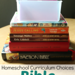 Homeschool Curriculum Choices: Bible - What we're using for our 1st and 2nd graders (plus preschooler, toddler, and two babies) @ AllOurDays.com