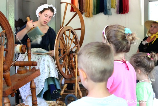 Visiting Colonial Williamsburg with Kids @ AllOurDays.com