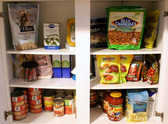Organizing Our Pantry @ AllOurDays.com