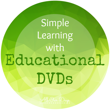 Simple Learning with Educational DVDs @ AllOurDays.com #write31days #preschool