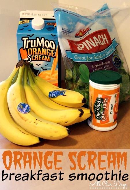 Orange Scream Breakfast Smoothie Recipe @ AllOurDays.com