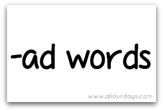 ad words