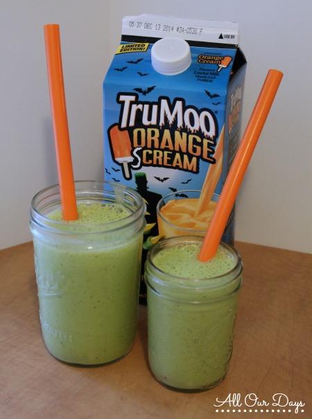 TruMoo Orange Scream Breakfast Smoothie Recipe @ AllOurDays.com