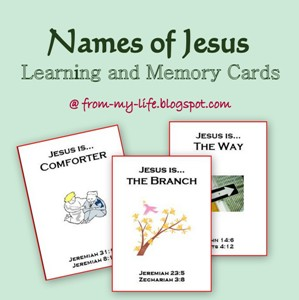 Names of Jesus button