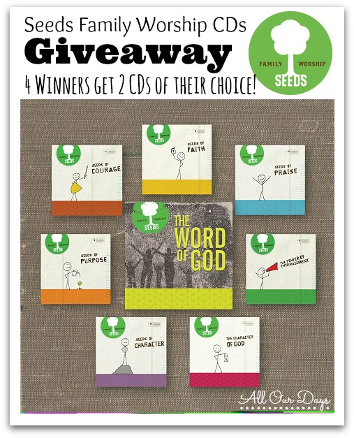 Seeds Family Worship CD Giveaway @ AllOurDays.com