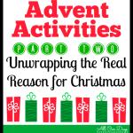 Advent Activities: Part 2 @ AllOurDays.com