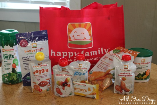 Happy Family Products are Great for Busy Families!