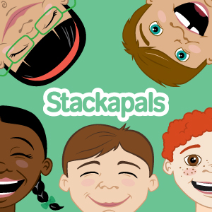 Looking for a quick and easy way to keep your kids engaged and playing independently? These Stackapals make a great (and quick) busy bag for little hands. Find out more at https://allourdays.com/2015/01/quick-easy-busy-bag.html