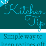 kitchen tip