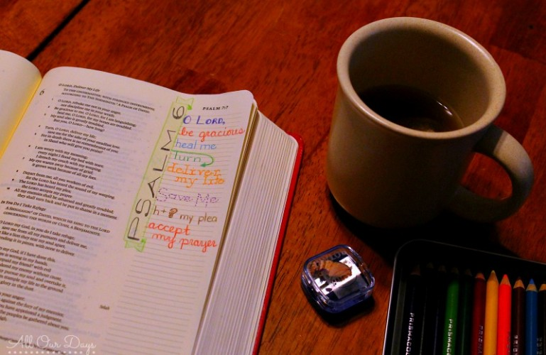 An Unmotivated Slacker's Guide to Spending More Time in God's Word