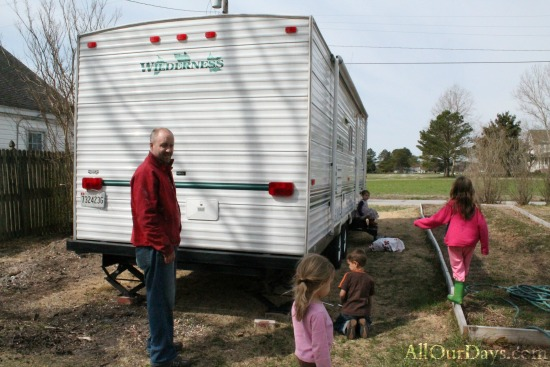 Why our family of 8 is moving into a 31 foot travel trailer.