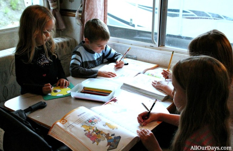 6 Tips for Homeschooling Without a School Room