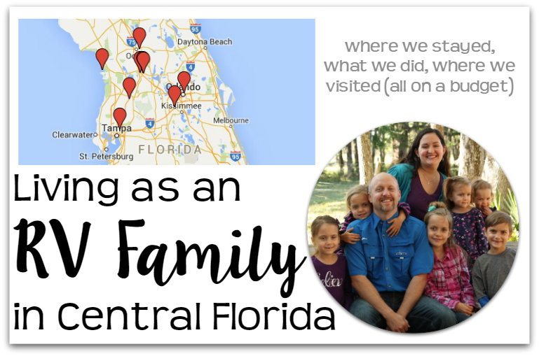 Living as an RV Family in Central Florida