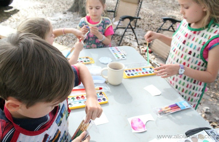 RV Family Craft Day