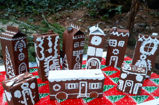 Houses with Finished Icing