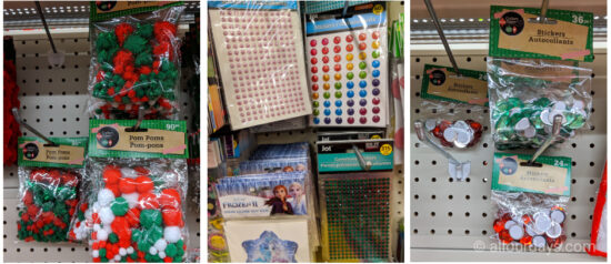 Supplies at Dollar Tree