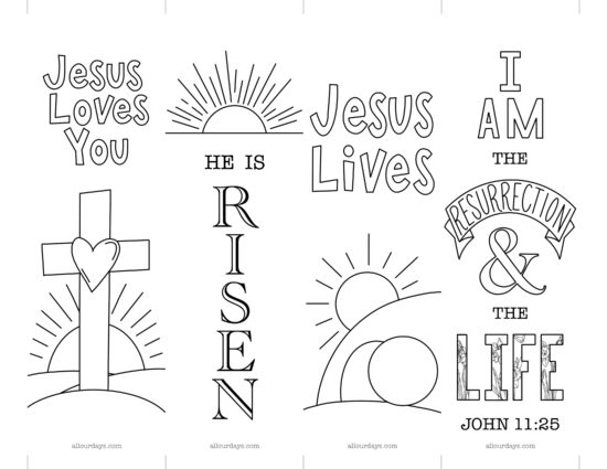 Free Easter Printable Bookmarks